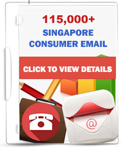 120,000+ Singapore Consumers Email Database