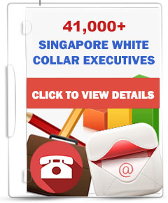 42,000+ SG White Collar Executives Database